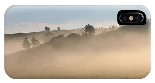 Iowa Morning Phone Case by Angie Phillips