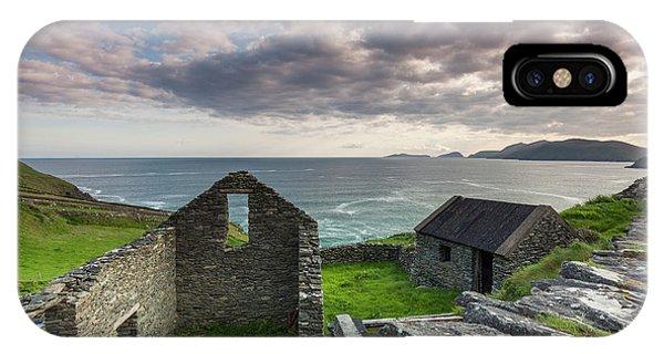 iPhone Case - Ireland, County Kerry, Slea Head Drive by Walter Bibikow