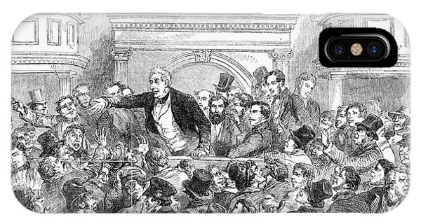 Courthouse iPhone Case - Ireland Election, 1857 by Granger