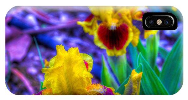 Iris #58 Phone Case by John Derby