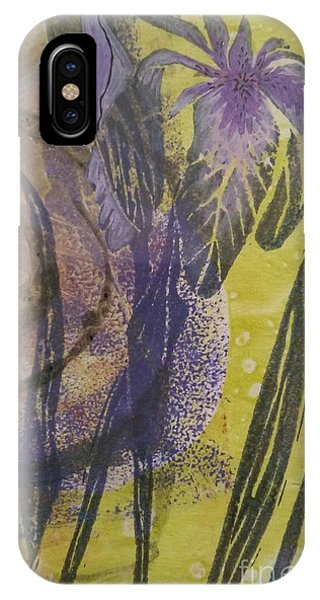 Iris And Spiral IPhone Case