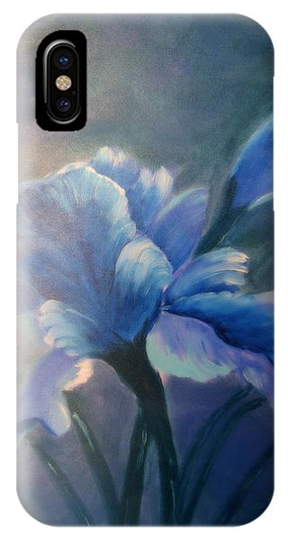 Iris Blue IPhone Case