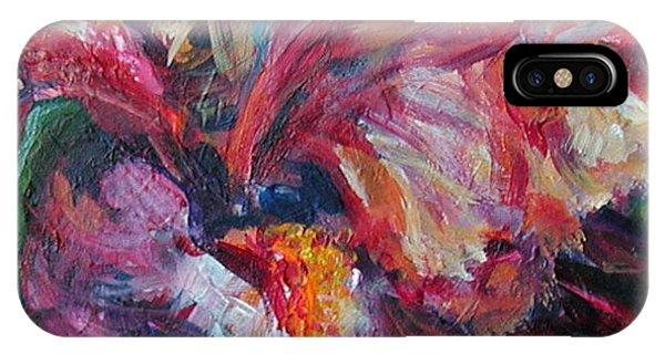 Iris - Bold Impressionist Painting IPhone Case
