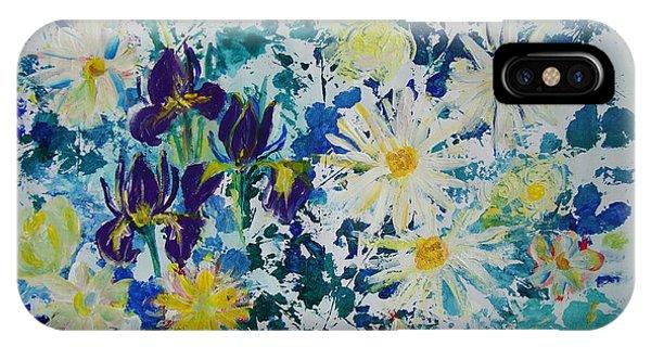 Iris Bouquet IPhone Case