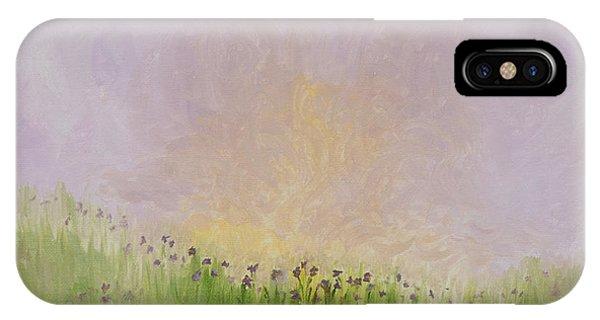 Iris Field IPhone Case