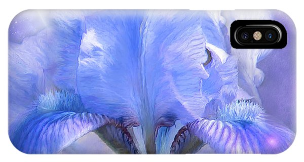 Moon iPhone Case - Iris - Goddess In The Moonlite by Carol Cavalaris