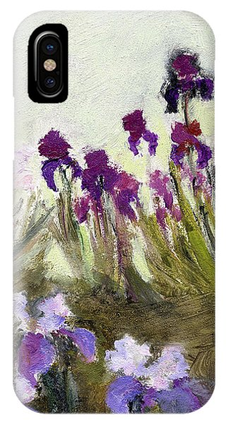 Iris In The Yard IPhone Case