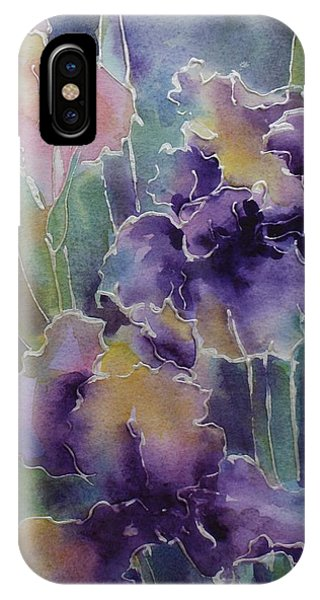 Iris Love IPhone Case