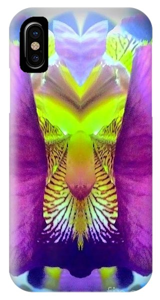 Iris Spirit Phone Case by Karen Newell