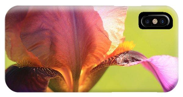 Iris Study 6 IPhone Case