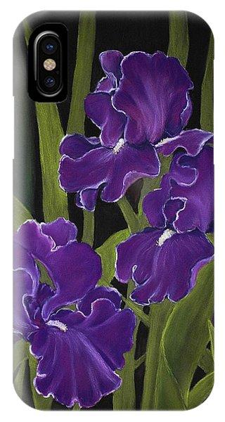 Irises IPhone Case