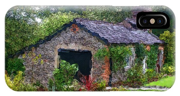 IPhone Case featuring the photograph Irish Cottage by Beauty For God