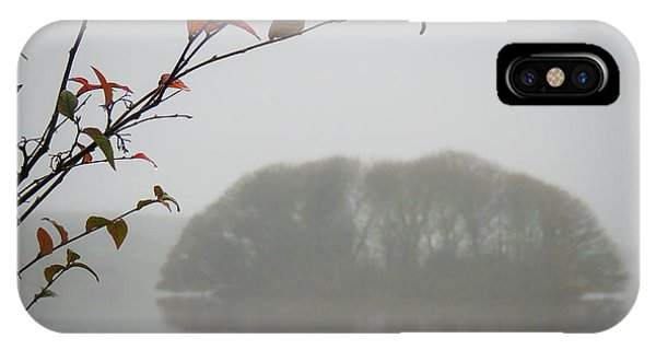 Irish Crannog In The Mist IPhone Case