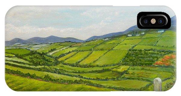 Irish Fields - Landscape IPhone Case