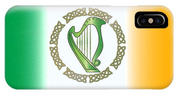 Harp iPhone Case - Irish Harp by Ireland Calling