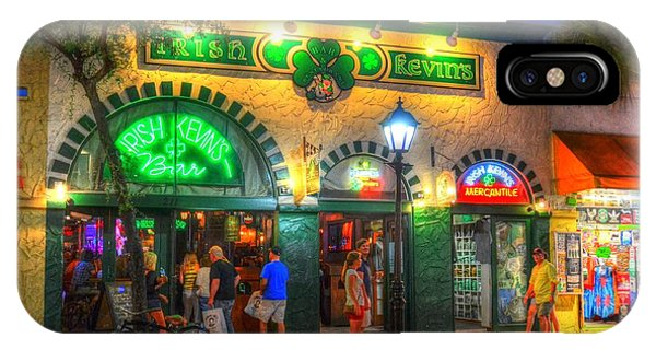 iPhone Case - Irish Kevin's Bar by Debbi Granruth