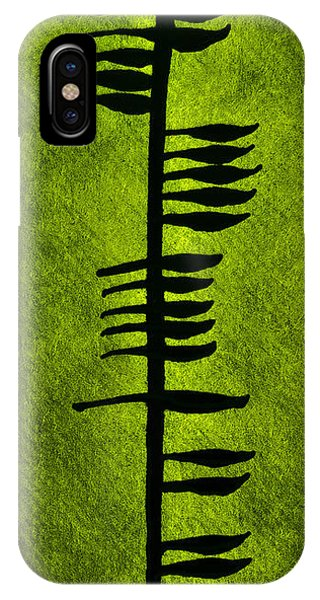 Irish Ogham Meaning Health IPhone Case