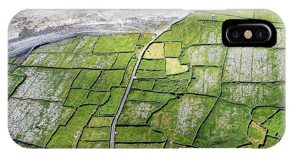 Irish Stone Walls IPhone Case