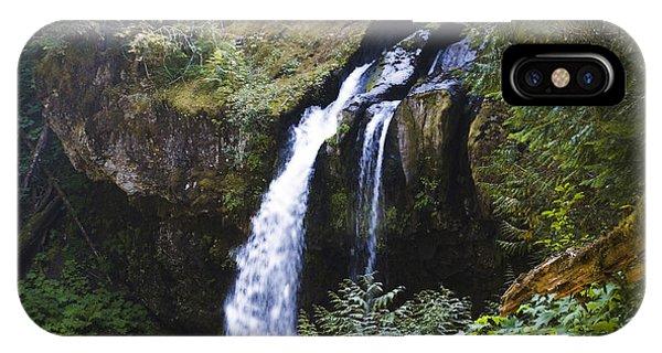 Iron Creek Falls IPhone Case