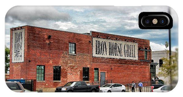 Iron Horse Grill Building IPhone Case
