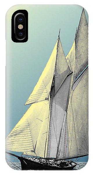 Iroquois - Schooner Yacht IPhone Case