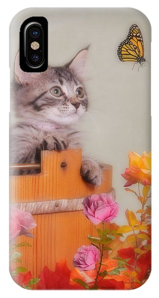 Is That Flower Flying? IPhone Case