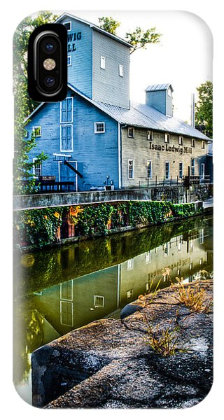 Isaac Ludwig Mill IPhone Case