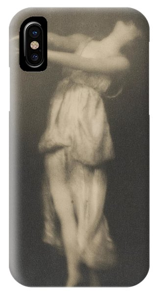 Dance iPhone Case - Isadora Duncan   Dancer by Arnold Genthe