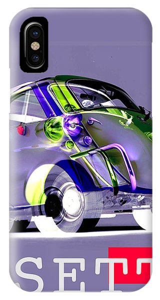 Nissan iPhone Case - Isetta by Jean luc Comperat
