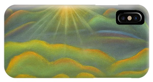 Isla Gorge Sunset IPhone Case