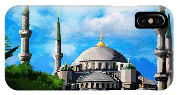 Bounties Of Allah. God iPhone Case - Islamic Mosque by Catf