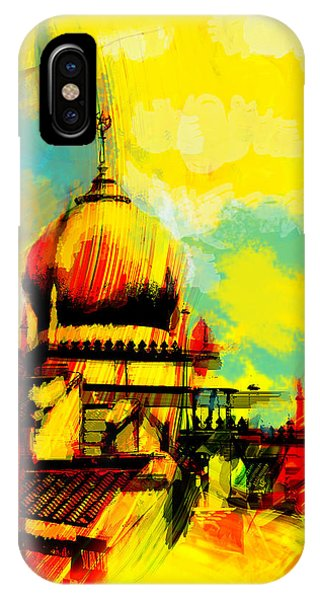 Bounties Of Allah. God iPhone Case - Islamic Painting 001 by Catf