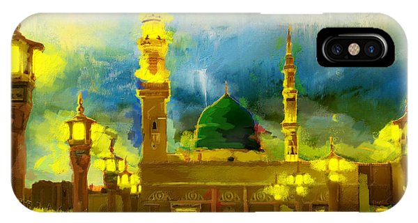 Islamic Painting 002 IPhone Case