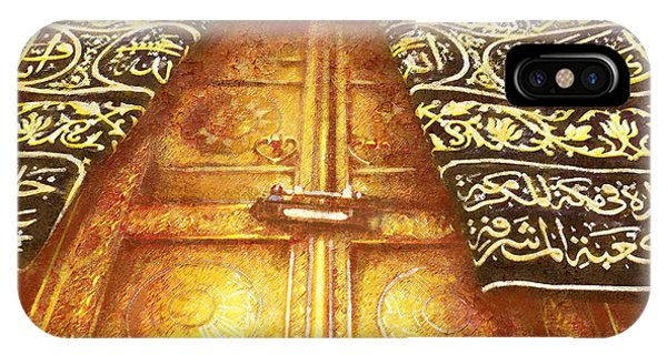 Islamic Painting 008 IPhone Case