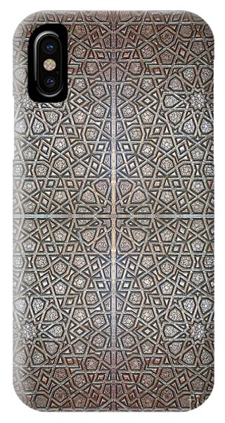 Islamic Wooden Texture IPhone Case