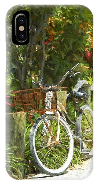 Island Bike IPhone Case