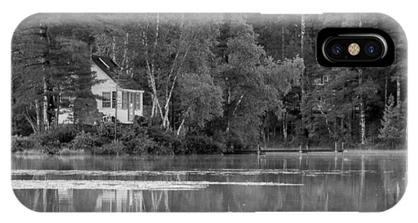 Island Cabin - Maine IPhone Case
