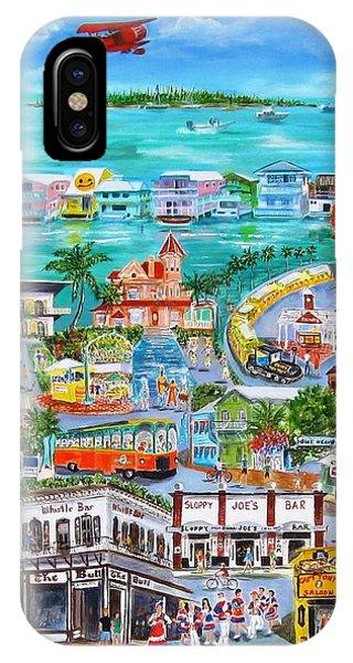 Trains iPhone Case - Island Daze by Linda Cabrera