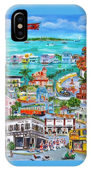 Bahamas iPhone Case - Island Daze by Linda Cabrera