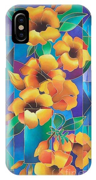 Island Flowers - Allamanda IPhone Case