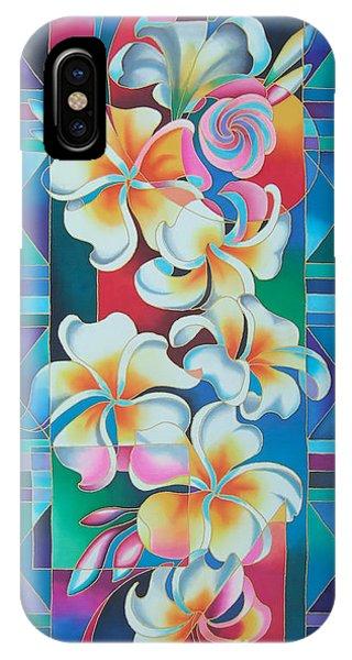 Island Flowers - Frangipani IPhone Case