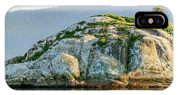 Glacier Bay iPhone Case - Island In A Lake, Glacier Bay National by Panoramic Images