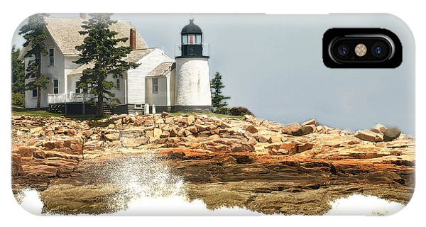 Island Lighthouse IPhone Case