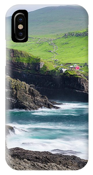 Archipelago iPhone Case - Island Mykines, Part Of The Faroe by Martin Zwick