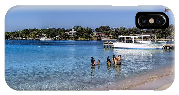Island Of Roatan IPhone Case