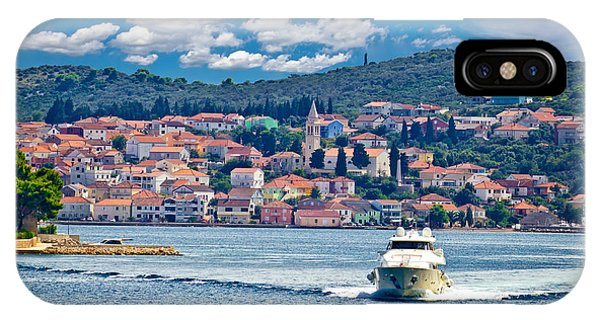 Island Of Ugljan Yachting Destination IPhone Case