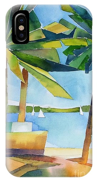 Island Palms IPhone Case