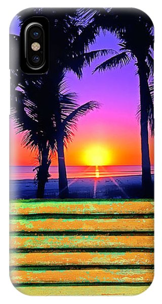 Island Shutter IPhone Case