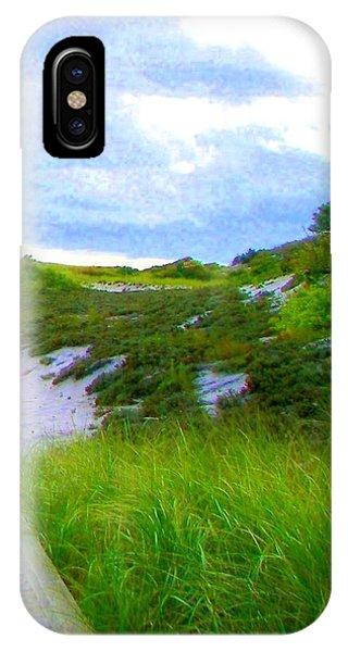 Island State Park Boardwalk IPhone Case