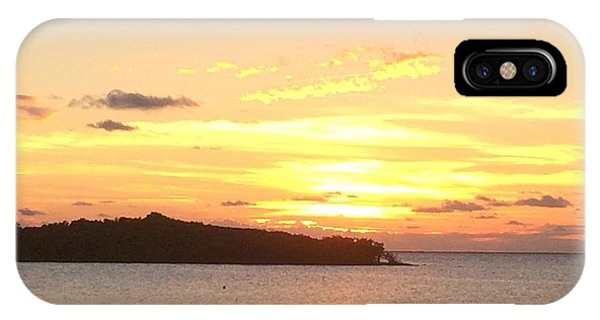 IPhone Case featuring the photograph Island Sunset by Marian Palucci-Lonzetta